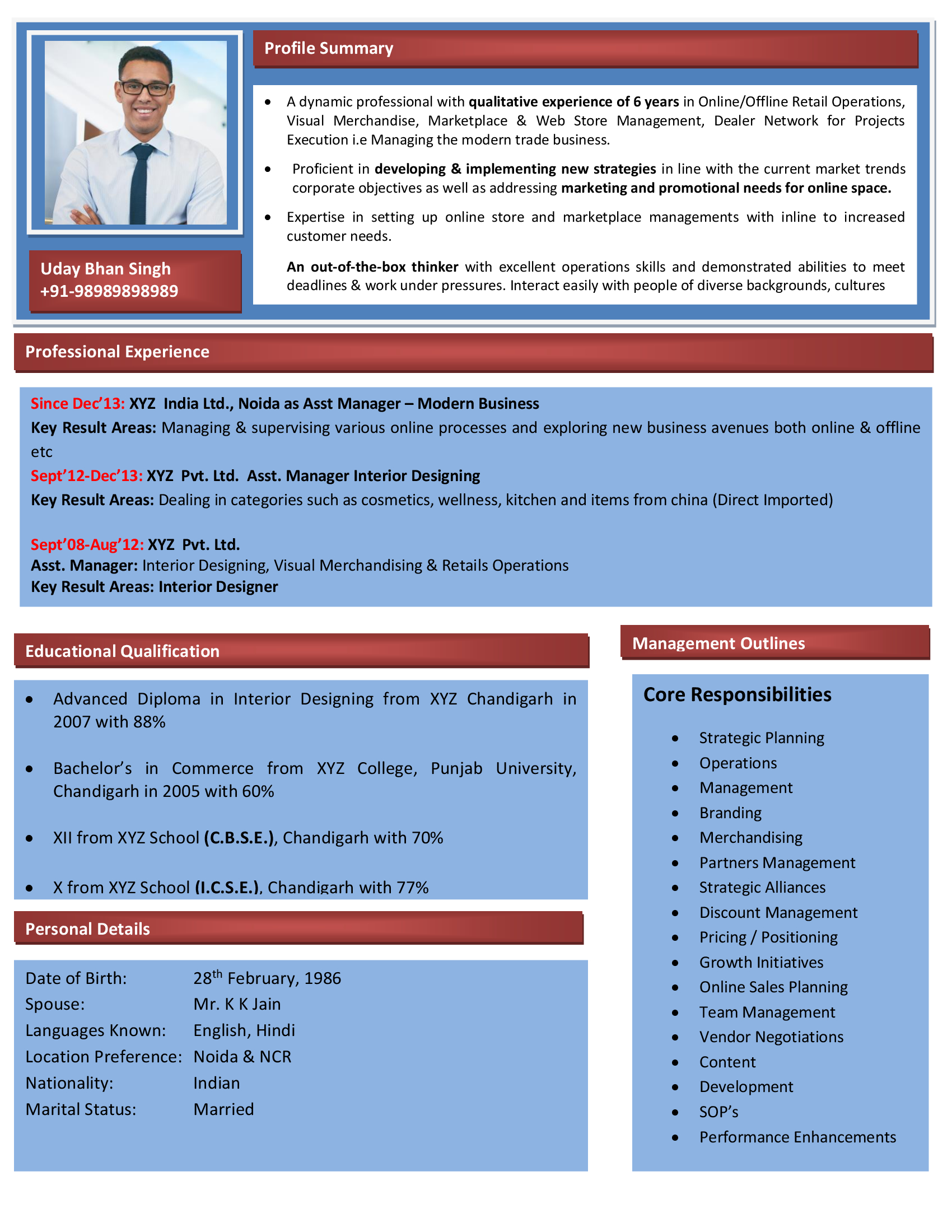 other popular free resume templates - Resume In Html Format