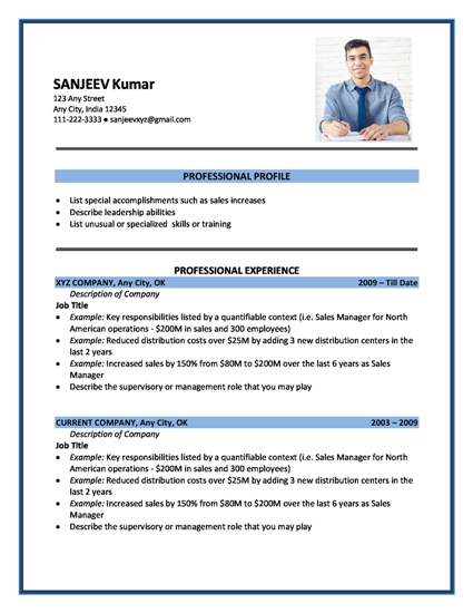 Newest Resume Format | Resume Format And Resume Maker