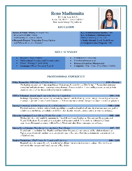 Free Resume Formats Sample | Resume Format | Resume Templates ...